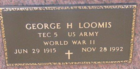 LOOMIS, GEORGE H. (MILITARY) - Burt County, Nebraska | GEORGE H. (MILITARY) LOOMIS - Nebraska Gravestone Photos
