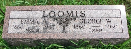 LOOMIS, EMMA ALICE - Burt County, Nebraska | EMMA ALICE LOOMIS - Nebraska Gravestone Photos