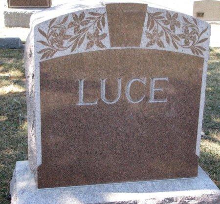 LUCE, *FAMILY MONUMENT - Burt County, Nebraska | *FAMILY MONUMENT LUCE - Nebraska Gravestone Photos