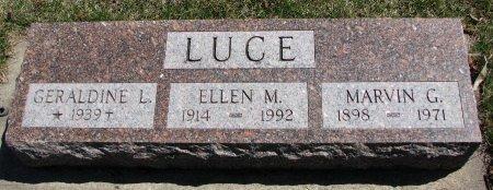 LUCE, GERALDINE L. - Burt County, Nebraska | GERALDINE L. LUCE - Nebraska Gravestone Photos