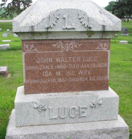 LUCE, IDA M. - Burt County, Nebraska | IDA M. LUCE - Nebraska Gravestone Photos