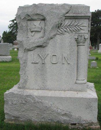 LYON, *FAMILY MONUMENT - Burt County, Nebraska   *FAMILY MONUMENT LYON - Nebraska Gravestone Photos