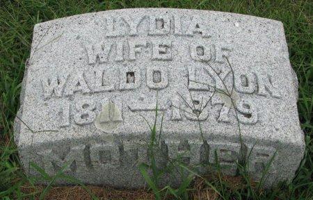HALL LYON, LYDIA - Burt County, Nebraska | LYDIA HALL LYON - Nebraska Gravestone Photos