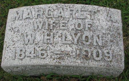 LYON, MARGARET A. - Burt County, Nebraska   MARGARET A. LYON - Nebraska Gravestone Photos