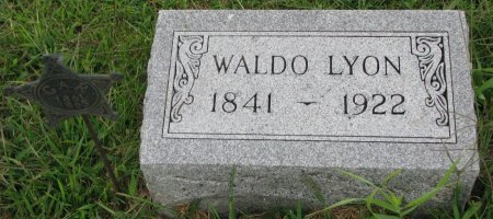 LYON, WALDO - Burt County, Nebraska | WALDO LYON - Nebraska Gravestone Photos