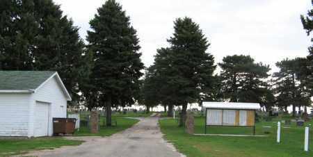*LYONS CEMETERY, ENTRANCE TO - Burt County, Nebraska | ENTRANCE TO *LYONS CEMETERY - Nebraska Gravestone Photos