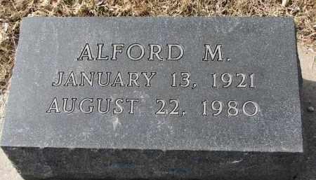 MAJOR, ALFORD M. - Burt County, Nebraska   ALFORD M. MAJOR - Nebraska Gravestone Photos