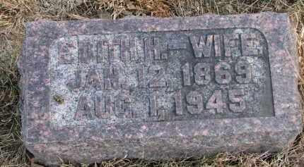 MAJOR, EDITH H. - Burt County, Nebraska | EDITH H. MAJOR - Nebraska Gravestone Photos