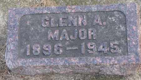 MAJOR, GLENN A. - Burt County, Nebraska | GLENN A. MAJOR - Nebraska Gravestone Photos