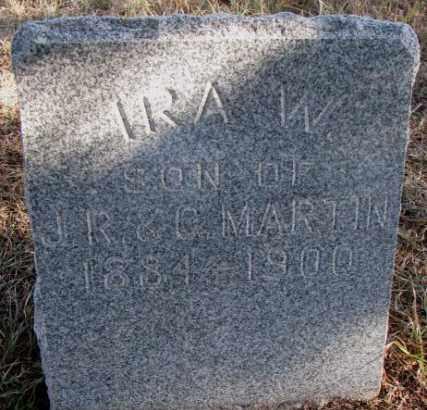 MARTIN, IRA W. - Burt County, Nebraska | IRA W. MARTIN - Nebraska Gravestone Photos