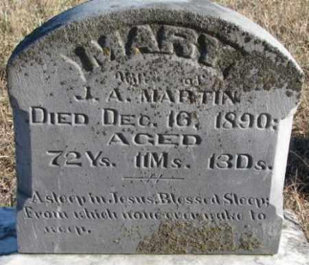 MARTIN, MARY - Burt County, Nebraska | MARY MARTIN - Nebraska Gravestone Photos