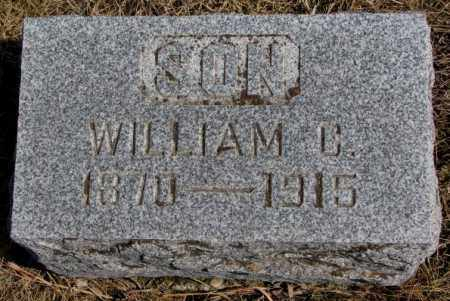 MARTIN, WILLIAM C. - Burt County, Nebraska | WILLIAM C. MARTIN - Nebraska Gravestone Photos