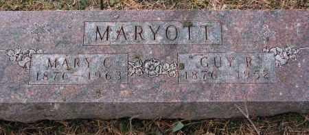 MARYOTT, GUY R. - Burt County, Nebraska | GUY R. MARYOTT - Nebraska Gravestone Photos