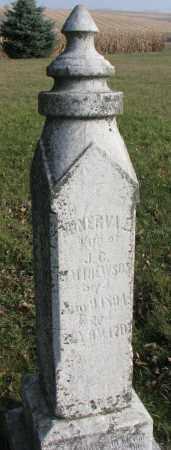 MATHEWSON, MINERVA E. - Burt County, Nebraska | MINERVA E. MATHEWSON - Nebraska Gravestone Photos