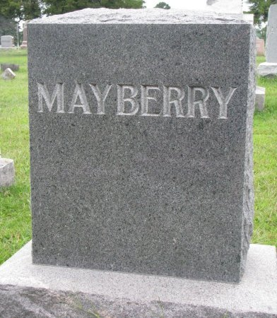 MAYBERRY, *FAMILY MONUMENT - Burt County, Nebraska | *FAMILY MONUMENT MAYBERRY - Nebraska Gravestone Photos