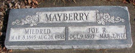MAYBERRY, JOE R. - Burt County, Nebraska | JOE R. MAYBERRY - Nebraska Gravestone Photos