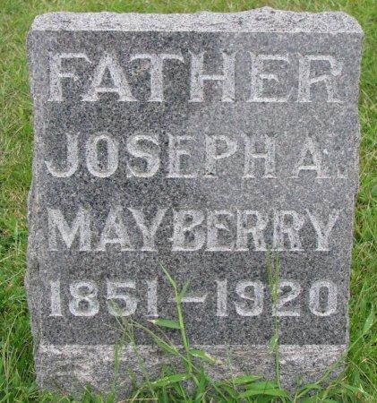 MAYBERRY, JOSEPH A. - Burt County, Nebraska   JOSEPH A. MAYBERRY - Nebraska Gravestone Photos