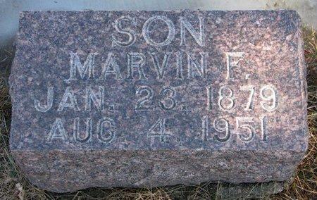 MCCARTNEY, MARVIN F. - Burt County, Nebraska | MARVIN F. MCCARTNEY - Nebraska Gravestone Photos
