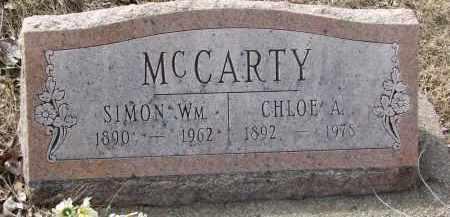 MCCARTY, SIMON WM. - Burt County, Nebraska | SIMON WM. MCCARTY - Nebraska Gravestone Photos