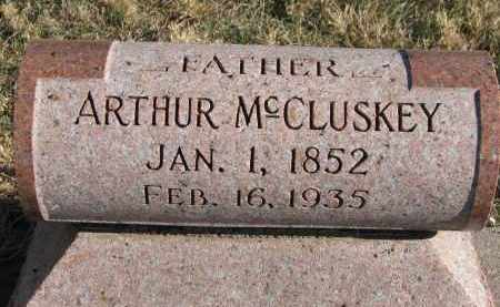 MCCLUSKEY, ARTHUR - Burt County, Nebraska   ARTHUR MCCLUSKEY - Nebraska Gravestone Photos