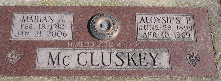 MCCLUSKEY, ALOYSIUS PAUL - Burt County, Nebraska | ALOYSIUS PAUL MCCLUSKEY - Nebraska Gravestone Photos