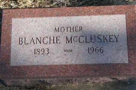 MCCLUSKEY, BLANCHE - Burt County, Nebraska | BLANCHE MCCLUSKEY - Nebraska Gravestone Photos