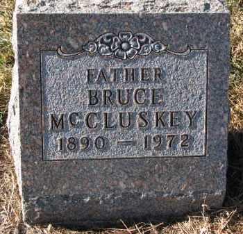 MCCLUSKEY, BRUCE - Burt County, Nebraska   BRUCE MCCLUSKEY - Nebraska Gravestone Photos