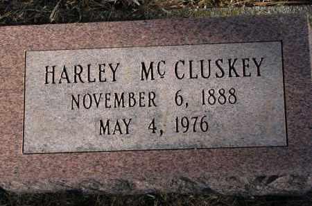 MCCLUSKEY, HARLEY - Burt County, Nebraska | HARLEY MCCLUSKEY - Nebraska Gravestone Photos