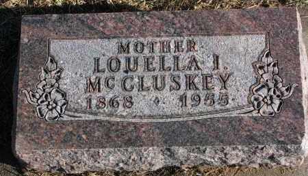 MCCLUSKEY, LOUELLA I. - Burt County, Nebraska | LOUELLA I. MCCLUSKEY - Nebraska Gravestone Photos