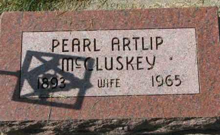 MCCLUSKEY, PEARL - Burt County, Nebraska | PEARL MCCLUSKEY - Nebraska Gravestone Photos