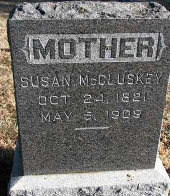 MCCLUSKEY, SUSAN - Burt County, Nebraska | SUSAN MCCLUSKEY - Nebraska Gravestone Photos