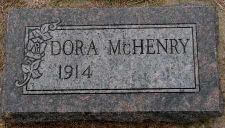 MCHENRY, DORA - Burt County, Nebraska   DORA MCHENRY - Nebraska Gravestone Photos