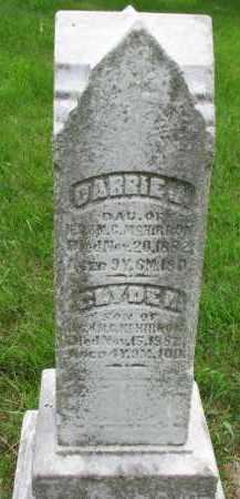 MCHIRRON, CARRIE J. - Burt County, Nebraska | CARRIE J. MCHIRRON - Nebraska Gravestone Photos