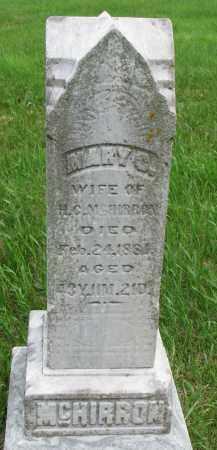 MCHIRRON, MARY C. - Burt County, Nebraska | MARY C. MCHIRRON - Nebraska Gravestone Photos