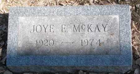 MCKAY, JOYE E. - Burt County, Nebraska   JOYE E. MCKAY - Nebraska Gravestone Photos