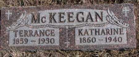 MCKEEGAN, KATHARINE - Burt County, Nebraska   KATHARINE MCKEEGAN - Nebraska Gravestone Photos