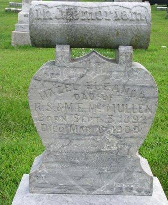 MCMULLEN, HAZEL ELEANOR - Burt County, Nebraska | HAZEL ELEANOR MCMULLEN - Nebraska Gravestone Photos