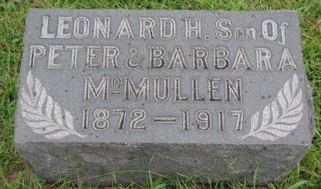 MCMULLEN, LEONARD H. - Burt County, Nebraska   LEONARD H. MCMULLEN - Nebraska Gravestone Photos