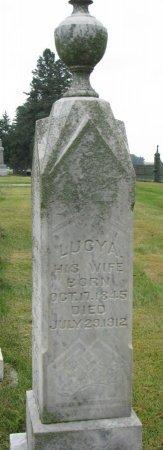 MCMULLEN, LUCY ADELIA  - Burt County, Nebraska | LUCY ADELIA  MCMULLEN - Nebraska Gravestone Photos