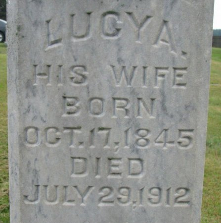 MCMULLEN, LUCY ADELIA (CLOSE UP) - Burt County, Nebraska | LUCY ADELIA (CLOSE UP) MCMULLEN - Nebraska Gravestone Photos