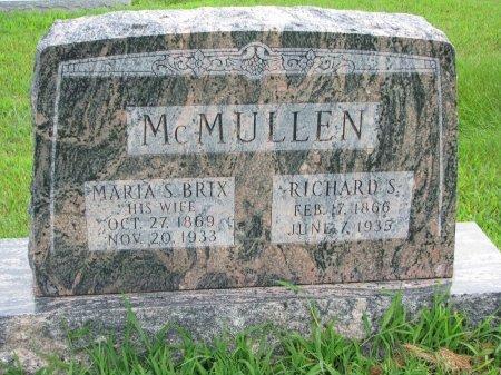 MCMULLEN, RICHARD S. - Burt County, Nebraska | RICHARD S. MCMULLEN - Nebraska Gravestone Photos