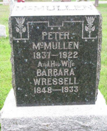 MCMULLEN, BARBARA - Burt County, Nebraska | BARBARA MCMULLEN - Nebraska Gravestone Photos