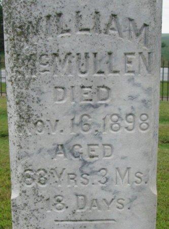 MCMULLEN, WILLIAM (CLOSE UP) - Burt County, Nebraska   WILLIAM (CLOSE UP) MCMULLEN - Nebraska Gravestone Photos