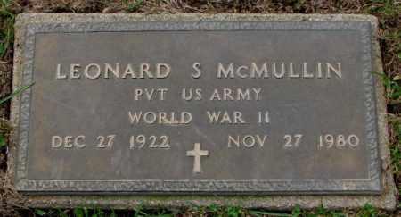 MCMULLIN, LEONARD S. - Burt County, Nebraska | LEONARD S. MCMULLIN - Nebraska Gravestone Photos