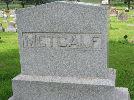 METCALF, *FAMILY MONUMENT - Burt County, Nebraska | *FAMILY MONUMENT METCALF - Nebraska Gravestone Photos
