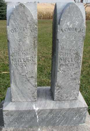MILLER, LOUIE H. - Burt County, Nebraska | LOUIE H. MILLER - Nebraska Gravestone Photos