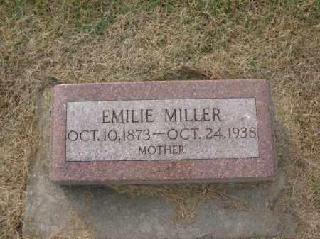 STECKLEBERG MILLER, EMILIE EDA - Burt County, Nebraska | EMILIE EDA STECKLEBERG MILLER - Nebraska Gravestone Photos