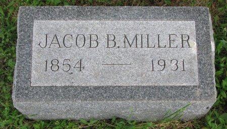 MILLER, JACOB B. - Burt County, Nebraska | JACOB B. MILLER - Nebraska Gravestone Photos