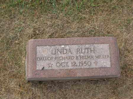 MILLER, LINDA RUTH - Burt County, Nebraska | LINDA RUTH MILLER - Nebraska Gravestone Photos