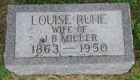 MILLER, LOUISE - Burt County, Nebraska | LOUISE MILLER - Nebraska Gravestone Photos